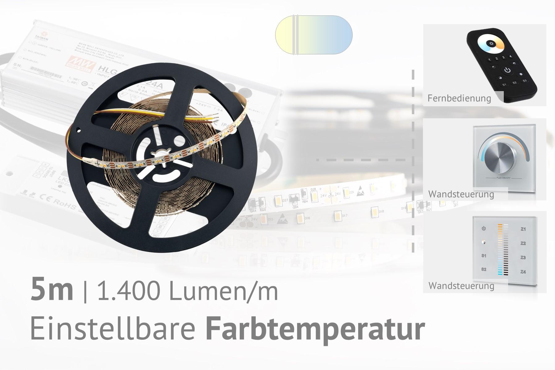 CCT LED-Set: 5 Meter