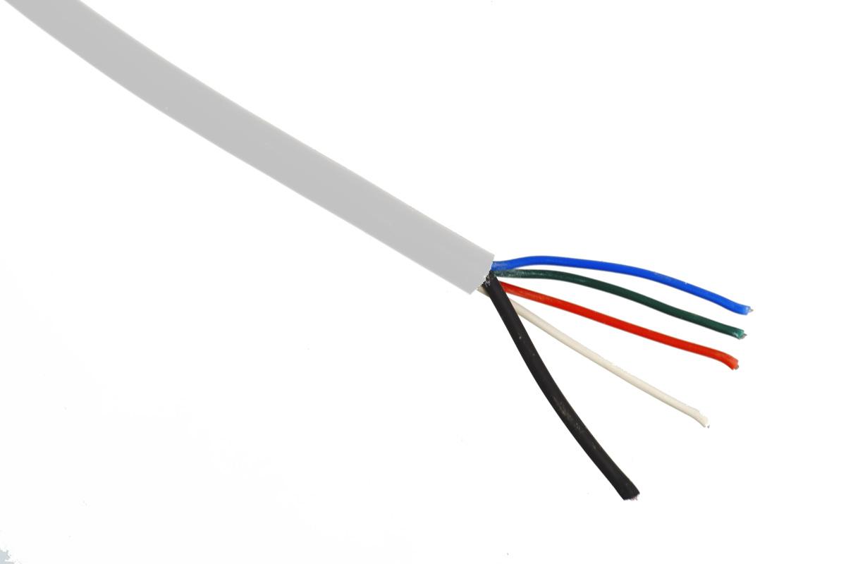 RGBW Kabel, halogenfrei