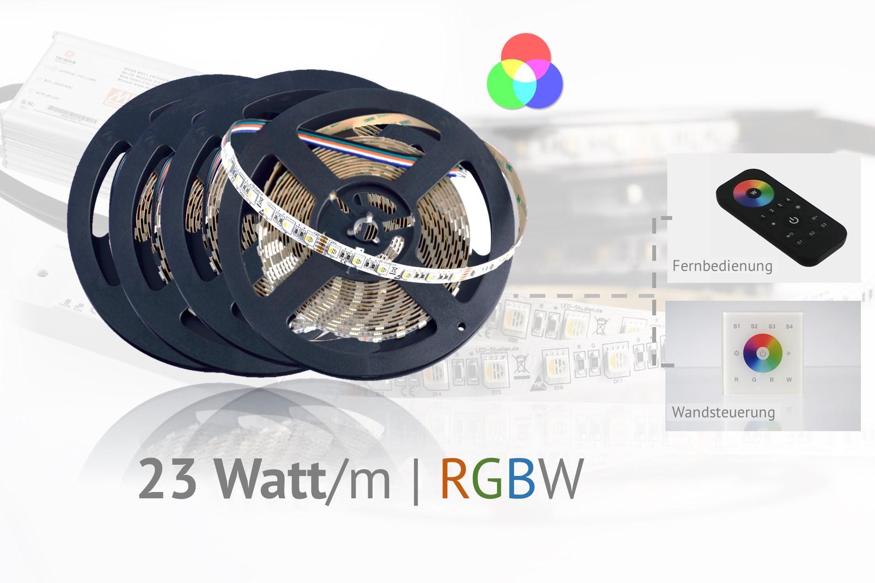 Set für farbige Akzentbeleuchtungen, RGBW-LEDs